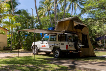 Do Kakadu and the Top End on your own in a self drive 4wd camper hire from Darwin 4wd Rentals