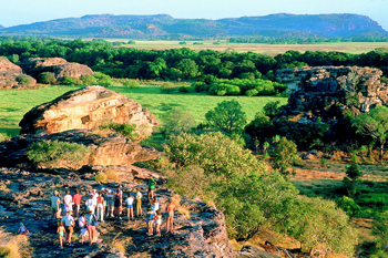 The question always asked which aboriginal rock art site is better Ubirr or Nourlangie