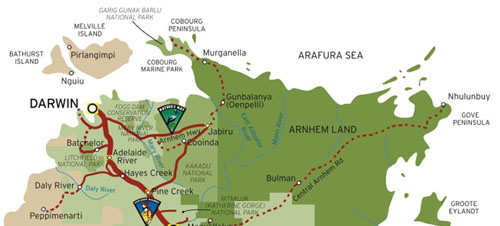 Map Of Australia Kakadu National Park.Kakadu Adventure Tours Guided Adventure Tours Departing From